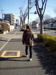 初詣 歩き始め 喰〜子