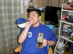 W-Cup 日本vsオランダ 今日は休肝日なのに呑んでるよぉ〜