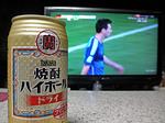 今年も東京ドームに行ってみた(屮゜Д゜)屮 W杯決勝戦で1杯!