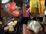 居酒屋『川』14.07 野外生活MT会で行く、ナイトピクニック(*´∇`)σ スイカ&コショーピーナッツ&厚揚げ&甘い物