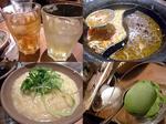 商店仲間の親睦会�D 温野菜 ウーハイ・お茶割り&中華麺にそば&豆乳リゾット&アイス