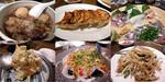 わかば親睦会 たくま 牛すじ煮&餃子&刺し盛&ポテサラ&鮮魚カルパッチョ&?