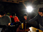 【B.B団】 忘年会15  居酒屋『川』 宴 乾杯�A