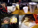 【B.B団】 忘年会15  居酒屋『川』 宴 ボジョレー&燗酒&甘い物&ポテチ