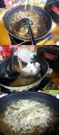 【B.B団】 忘年会15  居酒屋『川』 宴の次の日 朝食 残り鍋でチーズカレー雑炊