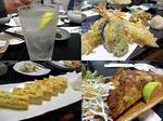 【B.B団】 忘年会14 ゆう 酎ハイ&天ぷら盛&厚焼き卵&さつま揚げ