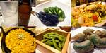 【B.B団】 忘年会14 だん家 こっちのテーブル ホッピー&お新香&コブサラダ&バターコーン&枝豆&唐辛子唐揚げ