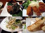 【泥酔友の会】忘年会15 鰹たたき&カキフライ&大根サラダ&パンアイス